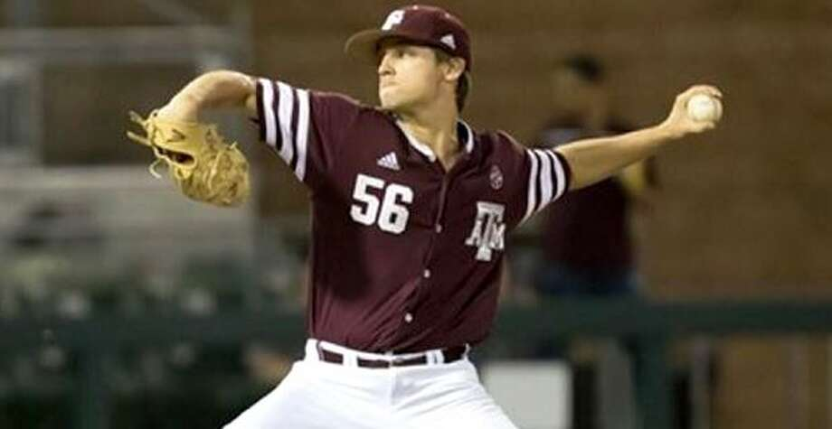 A&M reliever Kaylor Chafin had a scoreless inning string of 281⁄3 at one point this season to highlight an exceptional junior season. Photo: Courtesy Photo