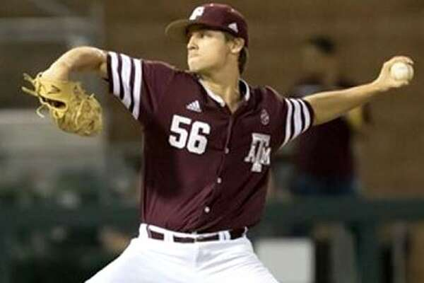 A&M reliever Kaylor Chafin had a scoreless inning string of 281⁄3 at one point this season to highlight an exceptional junior season.