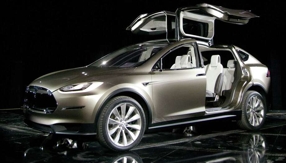 Tesla's Model X. Photo: Tim Rue, Stf / Bloomberg