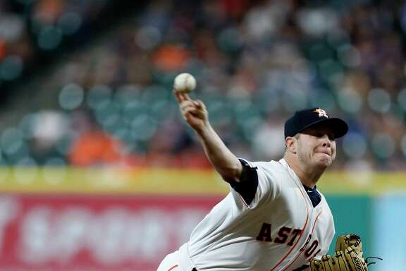 Brad Peacock's stint Monday night goes off without a hitch as he held the Tigers scoreless on one hit in his 41⁄3 innings while serving as a stand-in for Dallas Keuchel.