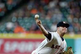 Making a spot start in place of Dallas Keuchel, Brad Peacock helped the Astros end a three-game losing streak.