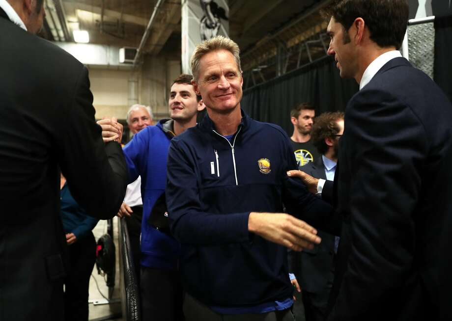 Steve Kerr reportedly still in a lot of pain, is undecided on returning for NBA Finals