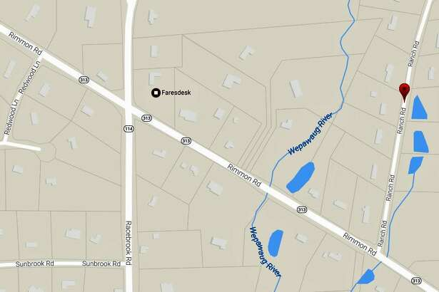 All lanes of Route 313 in Woodbridge are closed Tuesday, May 23, 2017 because of a utility pole on fire. The road is closed between Route 114 (Racebrook Road) and Ranch Road.