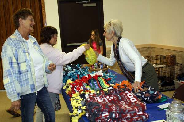 Crafts for Paws was held Saturday at the Bad Axe Knights of Columbus.