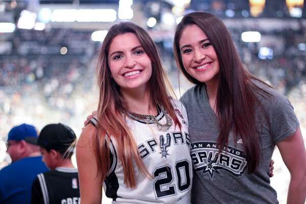 Passionate San Antonio Spurs fans hit the AT&T Center Monday, May 22, 2017, to send the Silver & Black into the post-season with smiles and cheers even after a devastating sweep in the Western Conference Finals.