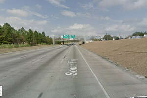 FILE - A screenshot of a Google Maps image of State Highway 288 near Southmore Boulevard in Houston, Texas. On May 23, 2017, an HISD school bus crashed in the area. No one was injured.