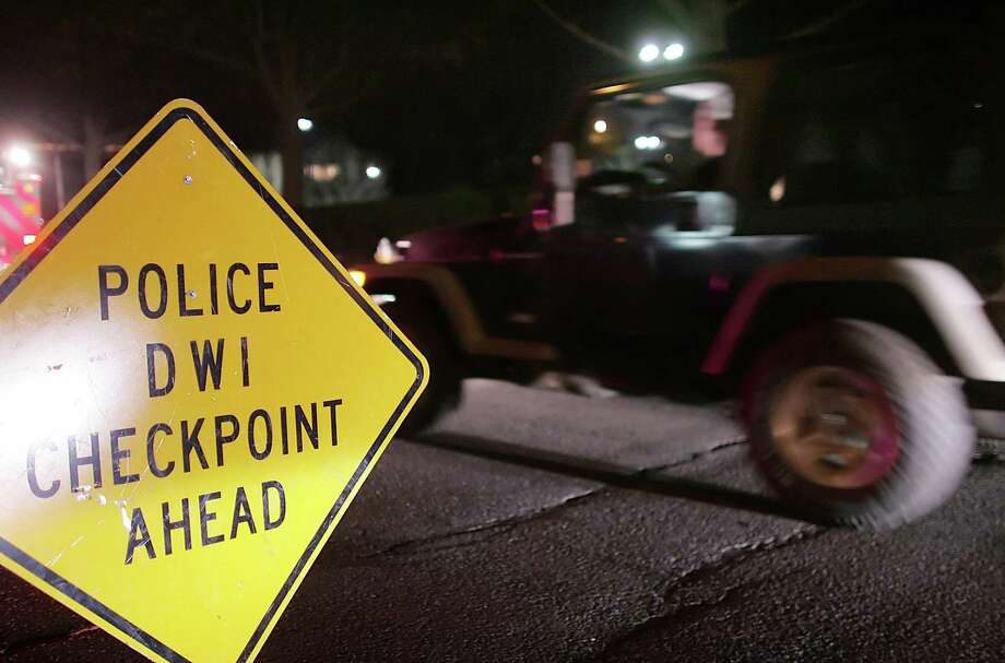 Norwalk police will conduct a DUI checkpoint along the West Avenue corridor from 7 p.m. Friday to 3 a.m. Saturday. Additional roving DUI enforcement units will patrol throughout the Memorial Day weekend. Photo: Hearst Connecticut Media File / 00005428A