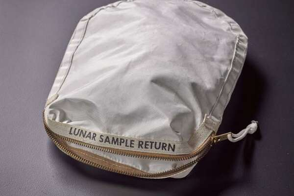 """Apollo 11 Contingency Lunar Sample Return Bag"" was