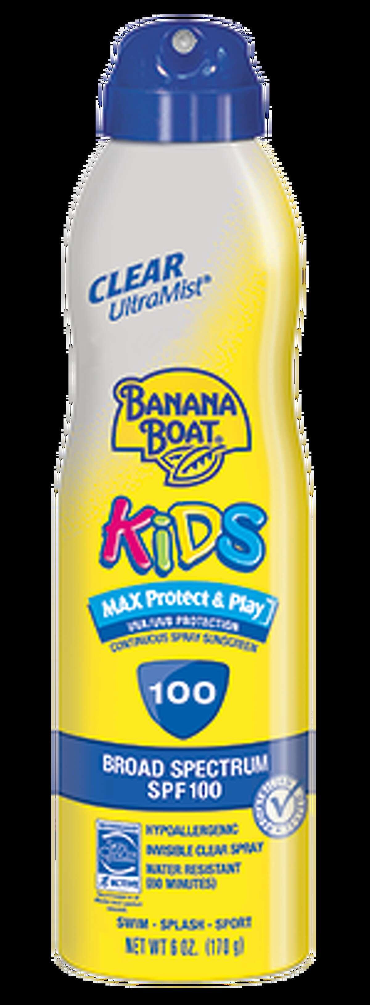 Banana Boat Kids Continuous Spray Sunscreen, SPF 100Source: Banana Boat