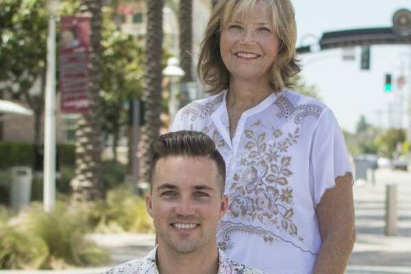 Judy O'Connor, a retired elementary school teacher, was awarded an honorary degree by Chapman University in Orange, Calif. for bringing her quadriplegic son Marty O'Connor to school every day.
