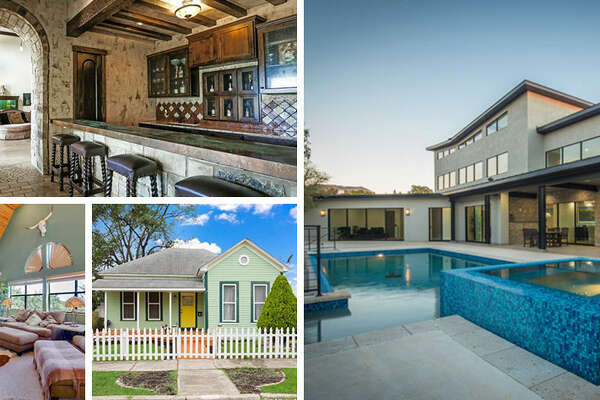 From non-standard exterior color choices to outside-the-box architecture, here are seven of San Antonio's most unique houses. Click through the slideshow.