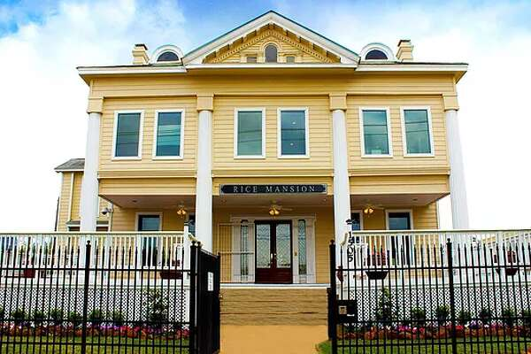 The historic Rice Mansion (Music World Entertainment)