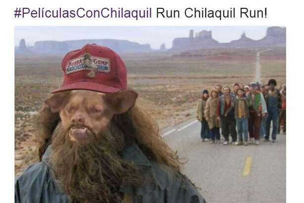 @123porAbisai: #PeliculasConChilaquil Run Chilaquil Run!