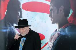 """Legendary comic book writer and artist Frank Miller, seen here at the """"Batman v Superman: Dawn Of Justice"""" premiere at Radio City Music Hall on March 20, 2016 in New York City, knows this superhero rivalry all too well. He basically created it in his 1986 masterpiece, """"Batman: The Dark Knight Returns."""" Miller headlines the celebrity guests and comic book talents appearing at Alamo City Comic Con, which runs May 26-28, 2017, at the Convention Center."""