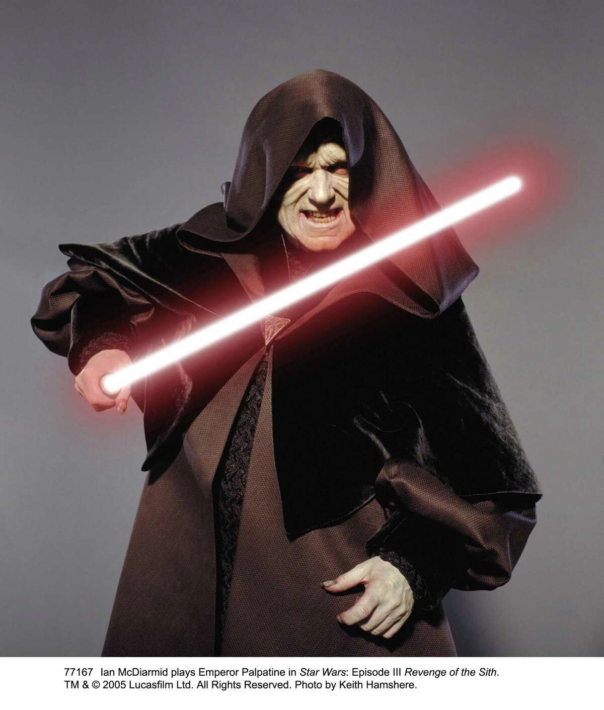 Ian McDiarmid Seen here as Emperor Palpatine from