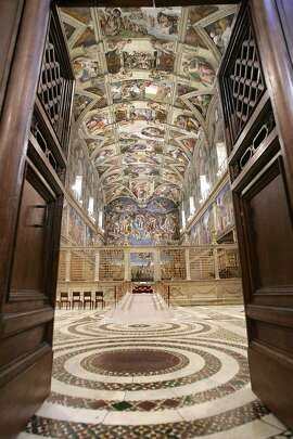 The Sistine Chapel: on the pre-lunch itinerary