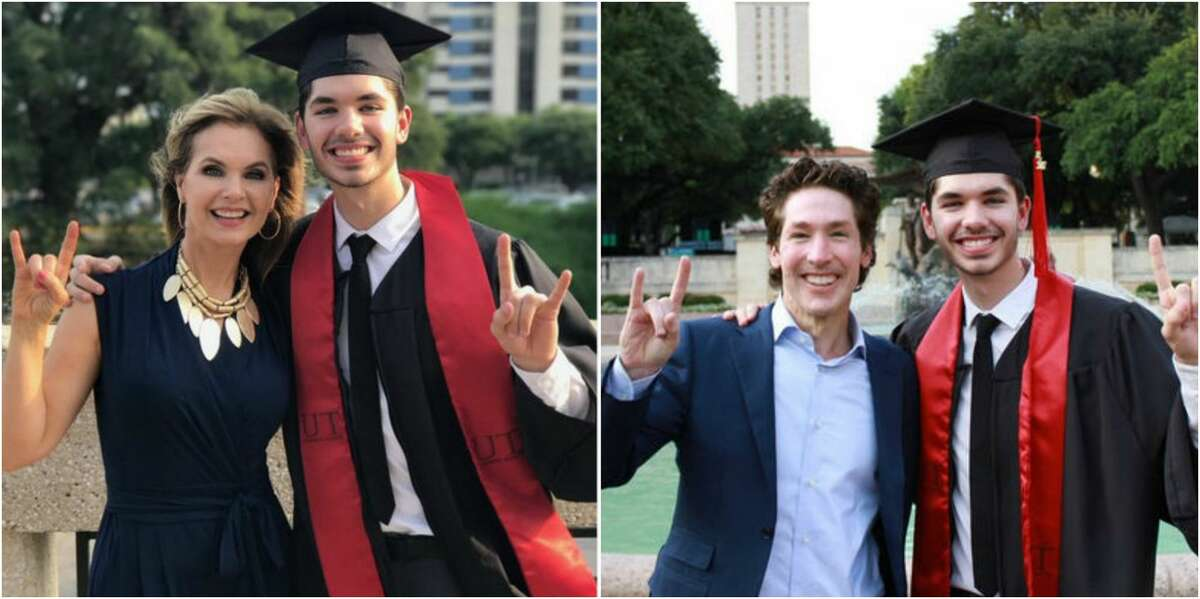 This past weekend Pastor Joel Osteen and Victoria Osteen of Lakewood Church joined countless other proud fathers at colleges across the country celebrating the graduations of their children. Some people didn't care for their brand of celebration. Click through to learn more Joel Osteen and his success at Lakewood Church over the years...