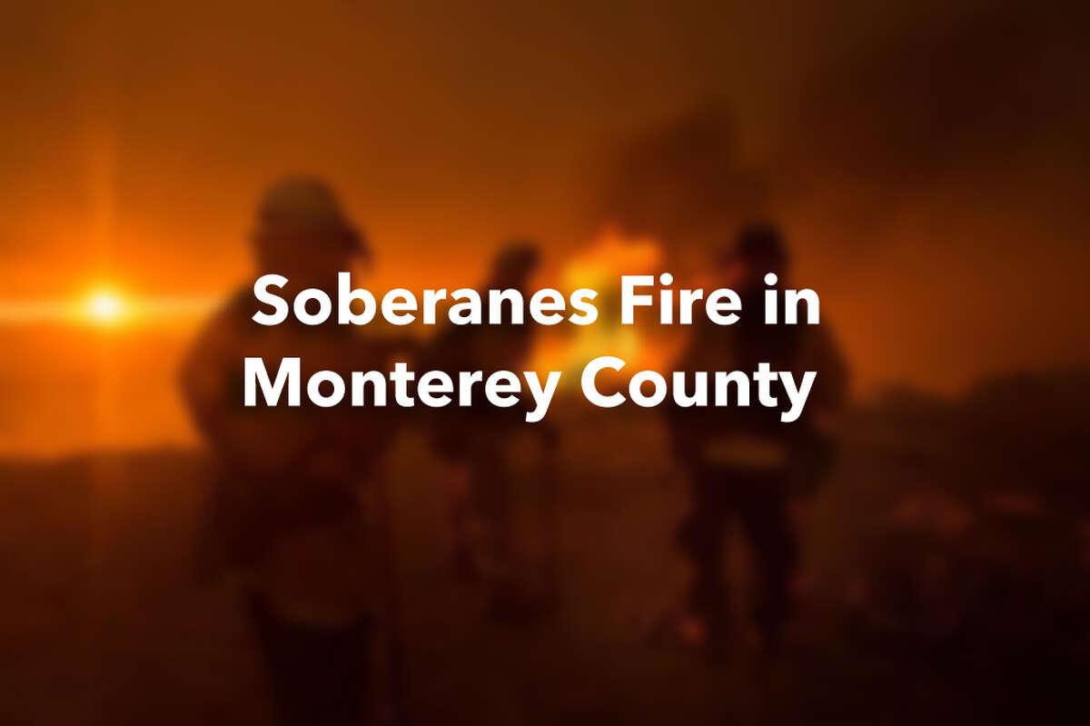 Soberanes fire in Monterey County