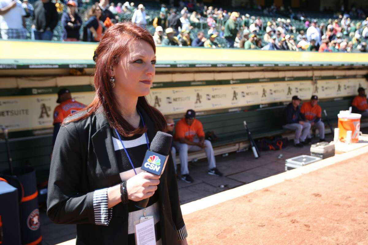 Things to know about Astros sideline reporter Julia Morales Married to a former big leaguer Morales is married to Matt Clark, who currently plays in the Mexican Baseball League. The former LSU star played briefly in the big leagues with the Milwaukee Brewers in 2014. The first baseman also spent time in Nippon Professional Baseball in Japan.