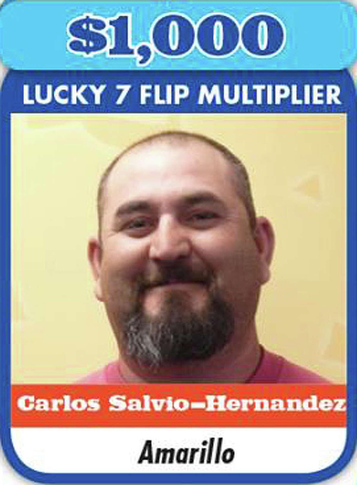 Carlos Salvio-HernandezWon: $1,000Where: Amarillo