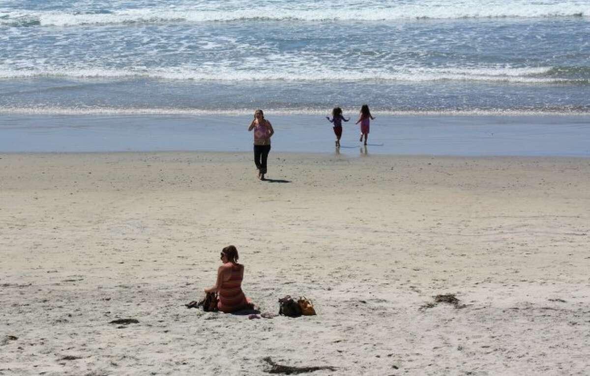 On beach nude the Teenage Nudity