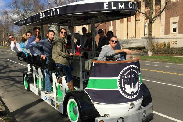 Elm City Party Bike