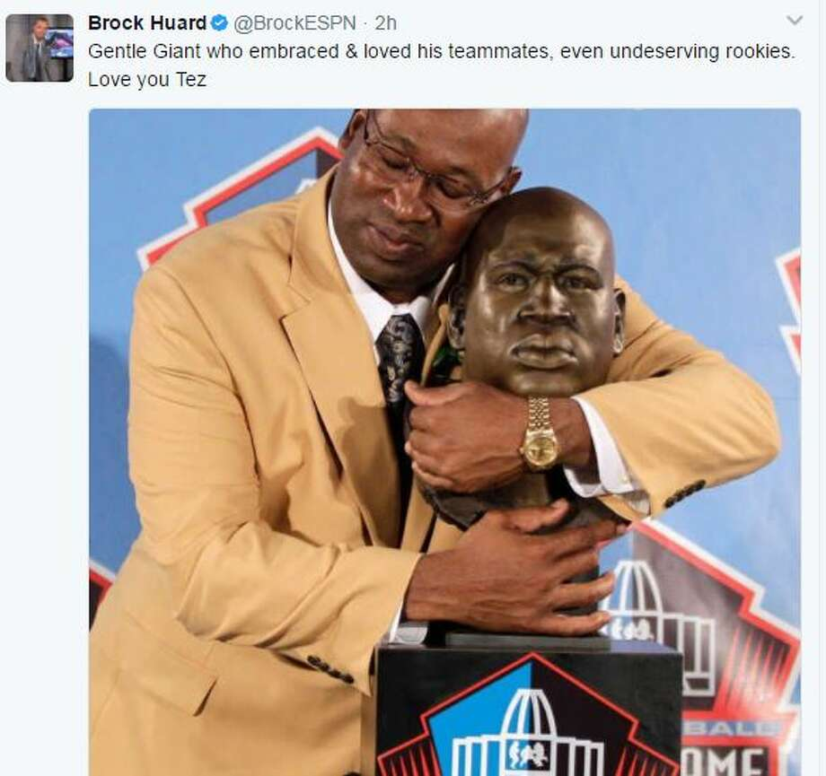 Reaction from former Seahawks quarterback Brock Huard Photo: TWITTER.COM