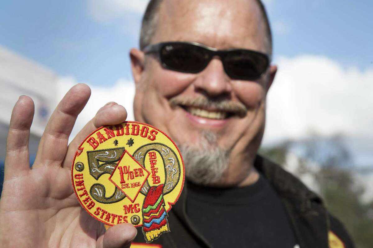 Jeff Pike, former Bandidos Motorcycle Club president seen in 2016, is on trial for racketeering.