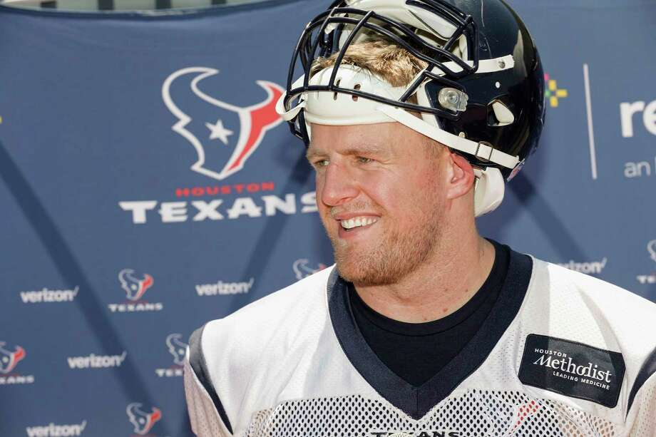"J.J. Watt's back ""feels great""After missing nearly all of last season with a back injury, Watt said he felt great at minicamp last month. The three-time NFL Defensive Player of the Year will rejoin the league's top defense opposite Jadeveon Clowney at defensive end is looking forward to participating in full contact drills in West Virginia. ""Training camp is going to be another one of those times where it's like, 'OK, next step,'"" Watt said in June.  Photo: Tim Warner, For The Chronicle / Houston Chronicle"