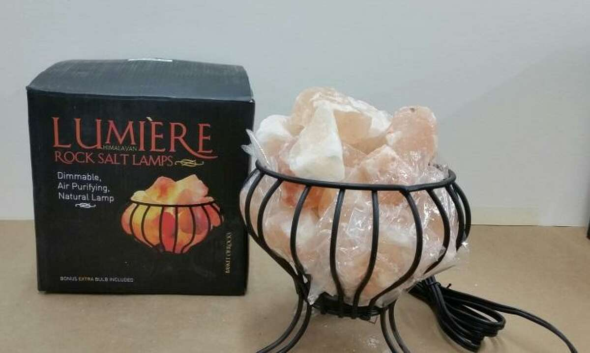 The Sportex company is recalling salt rock lamps due to shock and fire hazards.