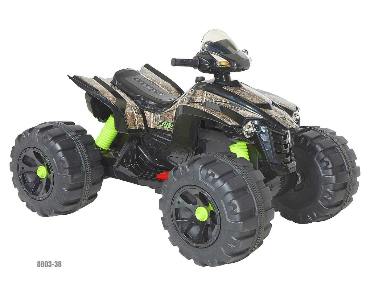 Dynacraft is recalling ride-on toys, including this Surge 12V XL Quad, due to fall and crash hazards. Photo courtesy of the Consumer Product Safety Commission.