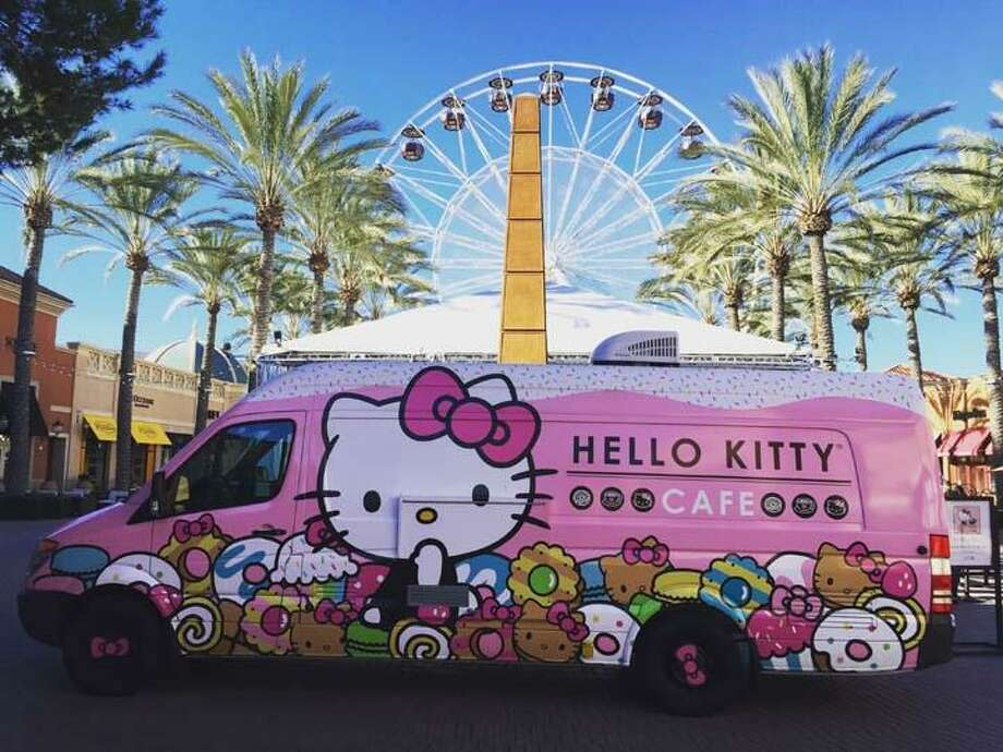 The Hello Kitty Cafe Truck Will Be Making An Appearance In San Antonio From  10 A.m.