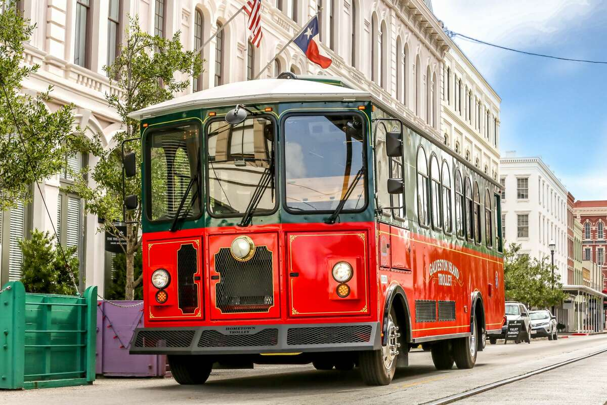 Galveston's rubber-tired trolleys will begin rolling through the streets June 2 for the first time since Hurricane Ike damaged them beyond repair in 2008.