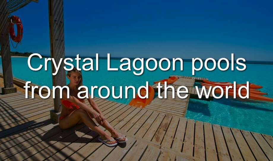 Continue clicking to see the Crystal Lagoon pools from around the world Photo: Crystal Lagoons U.S. Corp.