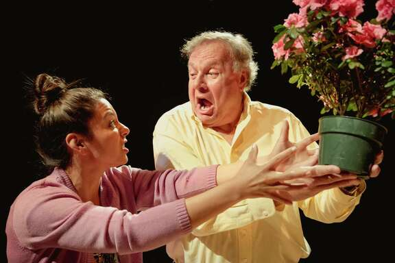 """Briana J. Resa and Jim Salners star in """"Native Gardens"""" at Main Street Theater."""