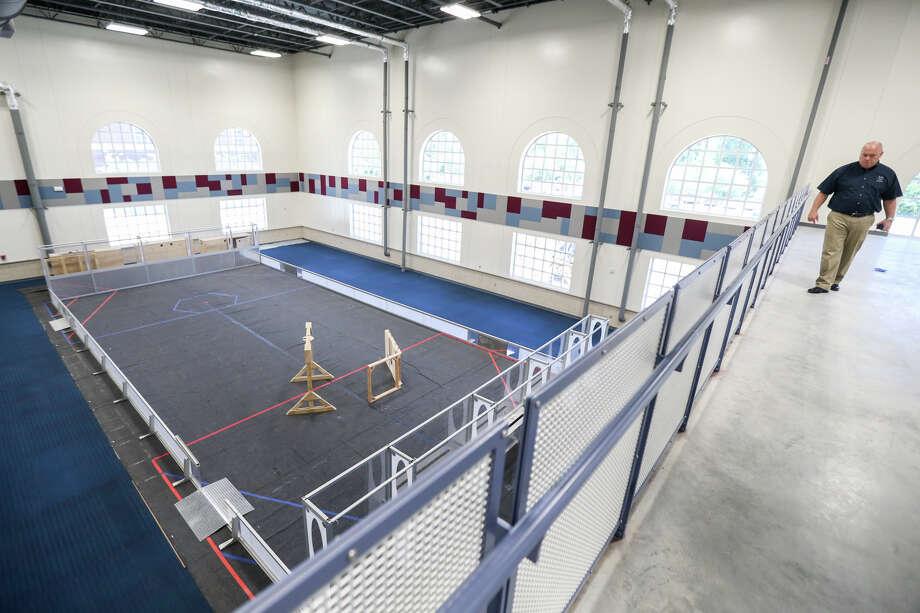Conroe Isd S 4 1m Robotics Lab Fulfills Need For Growing Program