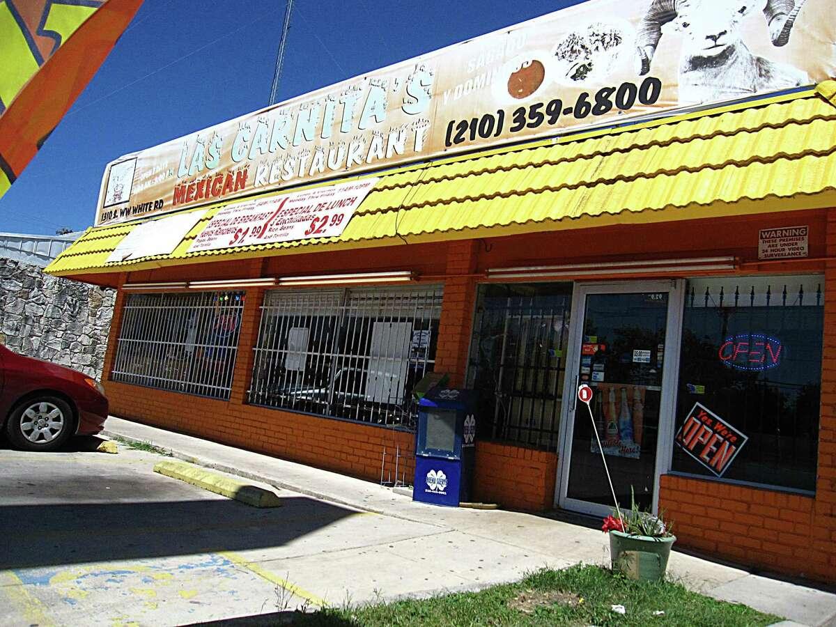Las Carnitas Mexican Restaurant on South W.W. White Road.