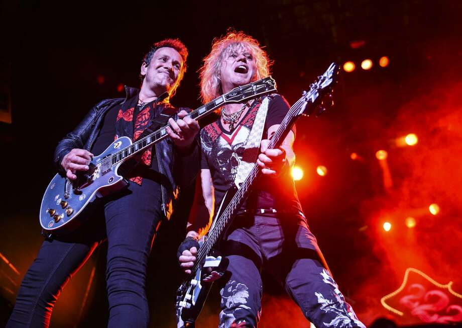 Def Leppard will co-headline a North American tour with Journey that will stop at the AT&T Center on Aug. 31. Photo: Jeremy Long, MBR / Associated Press / Lebanon Daily News