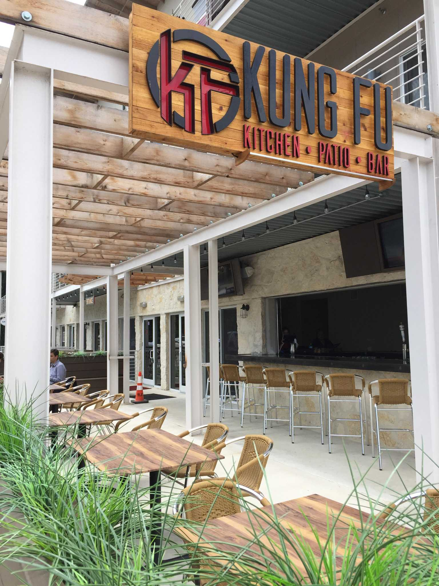 southtown s kung fu kitchen patio bar moves to catering only rh chron com patio kitchen and bar Patio Kitchens Designs