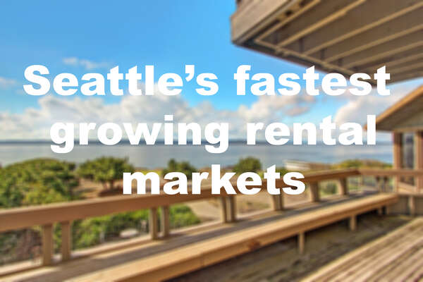 Which Seattle-area 'hoods are seeing the most growth, year-over-year, in rent prices?  