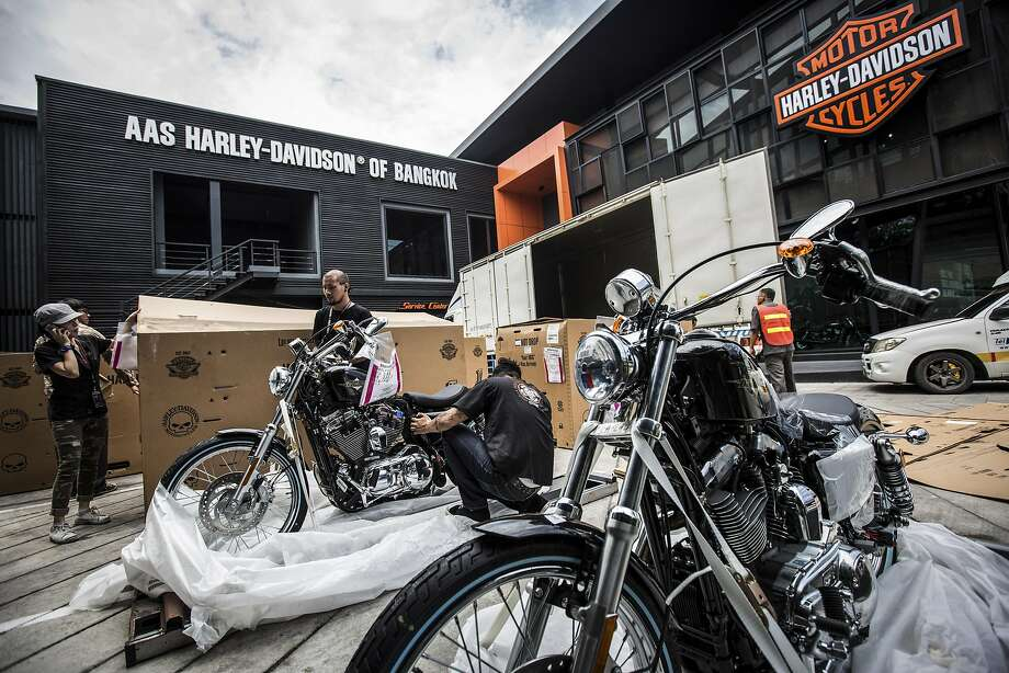 Even Harley Davidson Can T Resist The Tug Of Overseas Factories Sfgate
