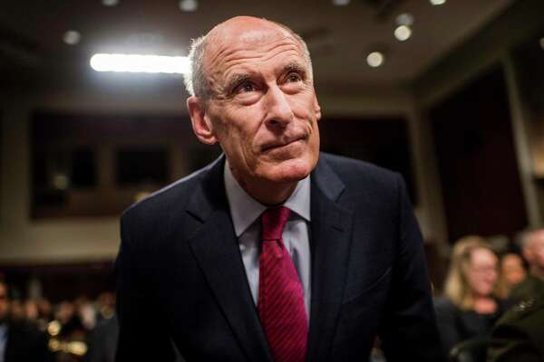 Director of National Intelligence Daniel Coats testifies before the Senate Armed Services Committee on Capitol Hill in Washington, D.C., on Tuesday.
