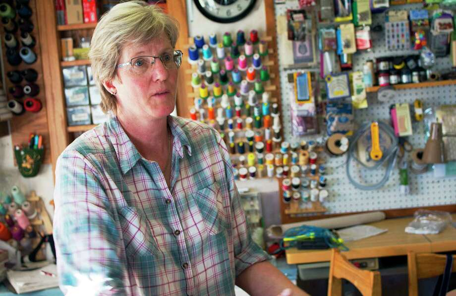 Carol Berg, a hairdresser and upholsterer from White Sulphur Springs, Mont., says though she voted for Donald Trump, she believes the current health care law is a lifeline. Photo: Bobby Caina Calvan, STF / Copyright 2017 The Associated Press. All rights reserved. This material may not be published, broadcast, rewritten or redistribu