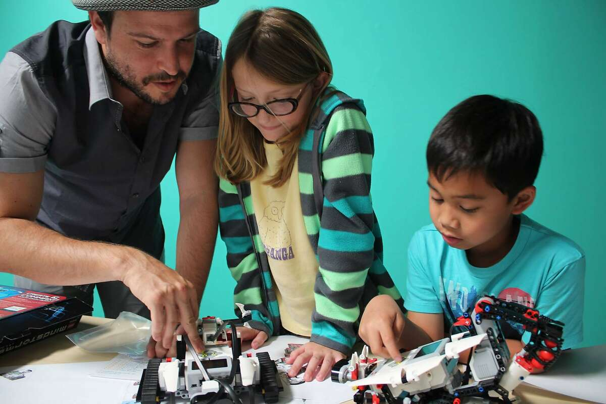 Campers at CodeREV Kids can learn different skills, including robotics, game design and engineering.