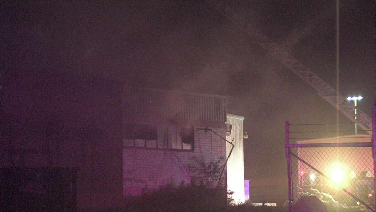 Firefighters responded to the blaze around 11:40 p.m. on May 23, 2017, in the 300 block of Riverside Drive.