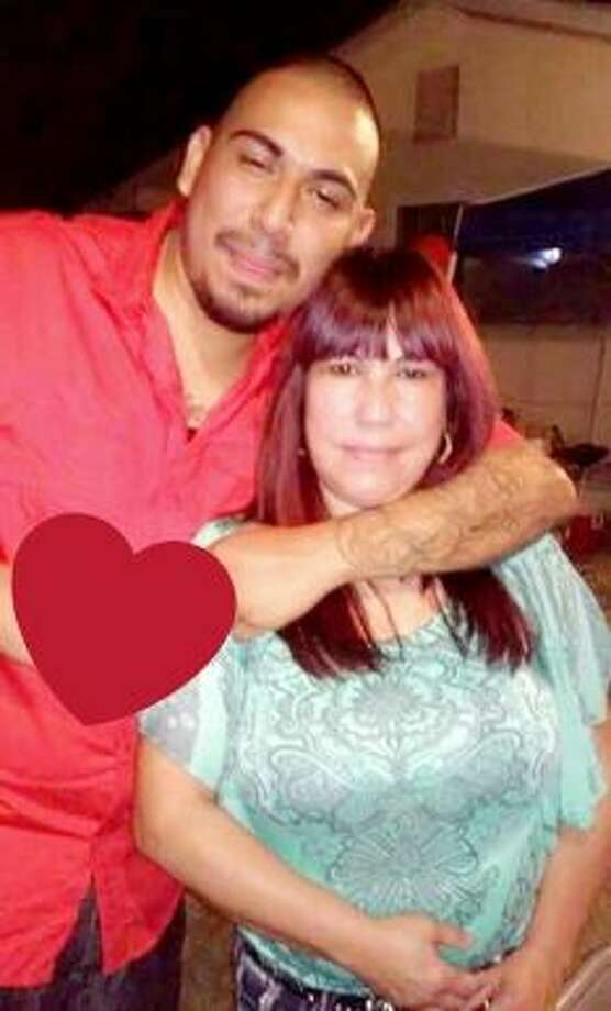Edwin Mendoza and his mother Rosa Mendoza are shown in this photo. Photo: Courtesy