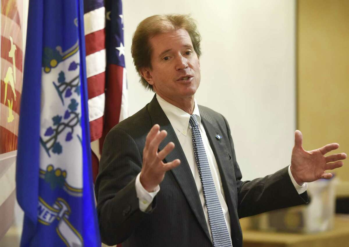 State Sen. L. Scott Frantz, R-Greenwich, early Wednesday voted against the approval of a third casino in East Windsor.
