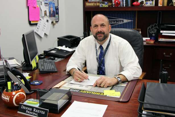 A photo of Dennis Reeves displayed on the Kirbyville High School web page.
