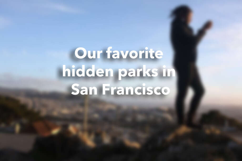 Our favorite hidden parks in San Francisco. Photo: Pete Kiehart / The Chronicle