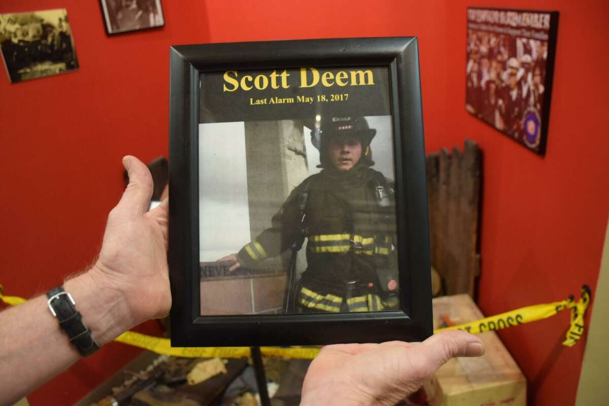 The San Antonio Fire Museum added the name of Scott Deem, 31, to the list of firefighters who died in line of duty.
